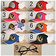 Cosplay accessory Arale wind hat + glasses cap No. 2 color hat Halloween hat Awning adult version cosplay tool (japan import)