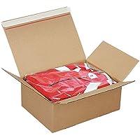 Propac z-dpf20caja Fondo automontante con cierre adhesivo fastpac, 21.3x 15.3x 11cm, paquete de 20
