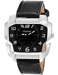 Austere Mega Men Analog Black Dial Men's Watch - MM-0202
