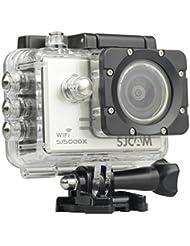 SJCAM SJ5000X Elite 4K Sports Action Camera Ultra-HD 2.0 Inch LTPS WiFi 4K 24fps 2K30fps Gyro Sports DV 2.0 LCD NTK96660 Diving Waterproof Action Camera_White