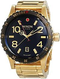 Nixon A277513-00 - Reloj de Pulsera Hombre, Acero Inoxidable, Color Dorado