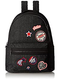 Superdry Women's Midi Pacific Backpack Black Nero - Washed Black