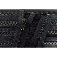 9f31cf7f19 Reißverschluß Kunststoff teilbar für Motorradkleidung 40 cm schwarz