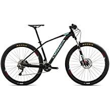 Orbea Alma H50 Black de Blue de red 2017 MTB Hardtail, color negro, tamaño 18 (46 cm)