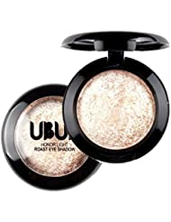 Single Baked Eye Shadow,Tefamore Powder Palette Shimmer Metallic Eyeshadow Palette (B)