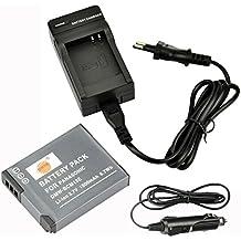 DSTE Ricambio Batteria + DC145E Caricabatteria per Panasonic DMW-BCM13E DMW-BCM13PP Lumix TF5/DMC-TS5/DMC-TZ40/DMC-TZ41/DMC-ZS27DMC-ZS30DMC-ZS35DMC-FH27ZS45ZS50