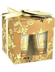 Gloss!  Coffret de Bain Gold White Floral et Musk 3 Pièces