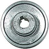 Poulies en aluminium pour moteur électrique 24 - 80 mm REF PRP1924xxx