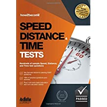 Speed, Distance and Time Tests: Hundreds of sample Speed, Distance and Time test questions