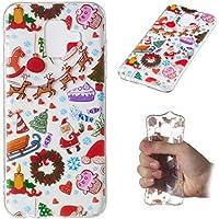 Weihnachten Hülle für Samsung Galaxy A6 2018,Artfeel Weihnachten Spielplatz Muster klar Weich Silikon Zurück Handyhülle... preisvergleich bei billige-tabletten.eu
