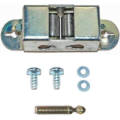 Spares2go eléctrico tipo de rodillo de cocina puerta Catch Latch Striker & Keeper para Gorenje Horno