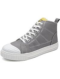 Xiaojuan-shoes, Zapatos Planos de Deporte de los Hombres Mocasines de Cordones Bajos con
