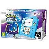 Nintendo 2DS - Consola, Color Azul + Pokémon Luna (Preinstalado)