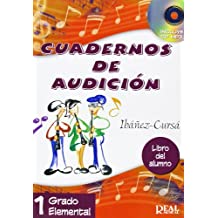 Cuadernos de Audición, 1 Grado Elemental (Libro del Alumno) (RM Audicion)