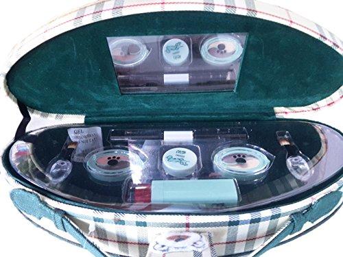TBEAR TRUSSE beauty case CHE CONTIENE: 1rossetto, 2 ombretti bicolore, 1 illuminante, 2 pennelli, 1 eyeliner