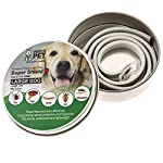 natural dog flea collar | prevention and control of fleas, ticks, lice and insects | natural chemical and toxin free | safe for pets and family | long lasting up to 180 days! Natural Dog Flea Collar | Prevention and Control of Fleas, Ticks, Lice and Insects | Natural Chemical and Toxin Free | Safe for Pets and Family | Long Lasting up to 180 days! 51a 2B2S qxL