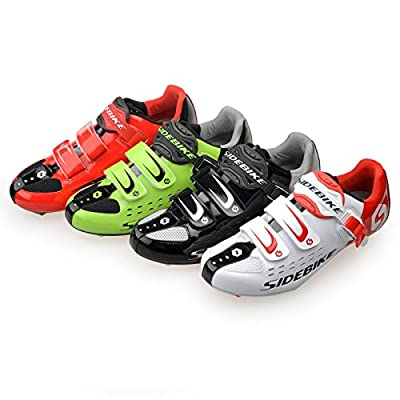 WIN Mens Breathable Casual Cycling Shoes with Carbon Soles or Nylon Tpu Soles for Road and MTB by WIN-WIN