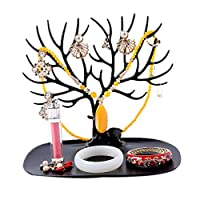 FABSELLER Jewellery Display Stand Holder Tree Shape Earring Necklace Bracelets Jewelry Storage Holders Hanging Organizer Rack