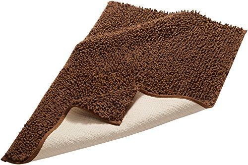 pinzon-by-amazon-tappetino-da-bagno-in-cotone-lussuoso-con-lavorazione-a-riccio-marrone-scuro-53-x-8