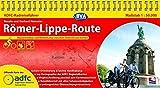 ADFC-Radreiseführer Römer-Lippe-Route 1:50.000 praktische Spiralbindung, reiß- und wetterfest, GPS-Tracks Download: Wassererlebnis und Römerkultur zwischen Detmold und Xanten