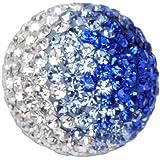 Engelsrufer Klangkugel Metall lackiert 17 mm Zirkonia weiß blau ERS-07-ZI-M