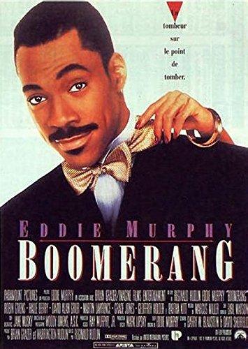 """Boomerang-Eddie Murphy-Platte 40 x 56 cm, Cinema \""""- Anzeige"""