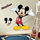 RoomMates RMK1508GM - Pegatinas de pared, diseño Mickey Mouse gigante