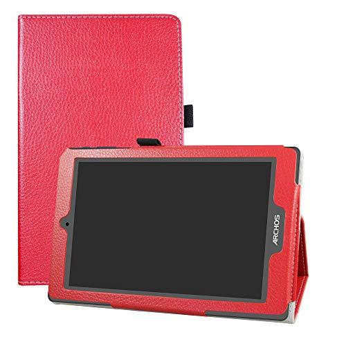 LFDZ Archos 80 Oxygen Hülle, Schutzhülle mit Hochwertiges PU Leder Tasche Case für 8