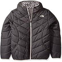North Face G Reversible Perrito Jacket - Chaqueta, Niña, Gris - (Graphite Grey