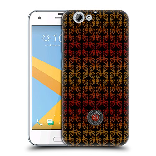 Official Anne Stokes Dragon Column Fire Tribal Hard Back Case for HTC One A9s