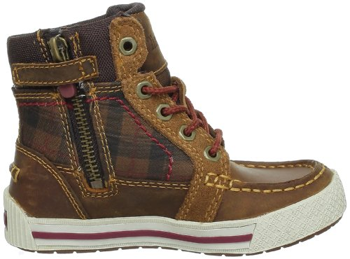 Timberland Ek Pannaway Chukka With Side Zip, Jungen Stiefel Braun (Marron (Light Brown))