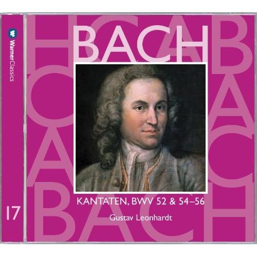 """Cantata No.52 Falsche Welt, dir trau ich nicht BWV52 : III Aria - """"Immerhin, immerhin, wenn ich gleich verstossen bin"""" [Boy Soprano]"""