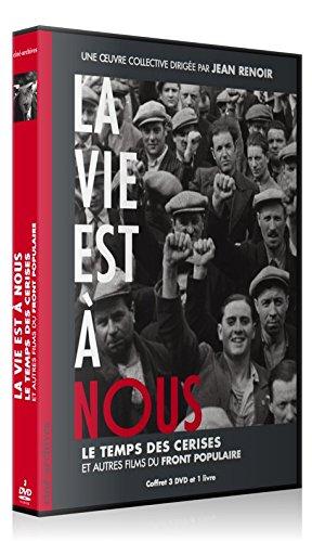 La Vie est à nous, Le Temps des cerises, et autres films du Front populaire [3 DVD, Digipack, Fourreau + Livre] [Edizione: Francia]
