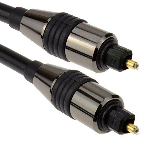Optical TOSLINK Digital Audio Kabel SPDIF für Sonos Playbar und Wireless-Soundbars | BOSE Cinemate 15 / Solo 15 Series II Soundstage / SoundTouch 30 | LG LAS160B / LAS260B 2.0 Ch 100W / LG LAS455H 2.1 / LG NB3540 / NB4540 4.1 S / SH2 2.1 / SH4 2.1 | Roth Audio Sub Zero II | Optisches, digitales Drahtseil von Keple (1m / 3.28ft) (Wireless Sound Bar Für Lg Tv)