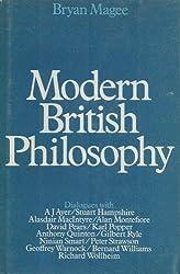 Modern British Philosophy by Bryan Magee (1971-11-01)