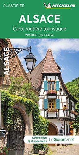 Carte routière touristique Alsace Michel