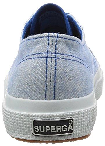 Chaussures Le Superga - 2750-cotspotsu WHITE-BLU