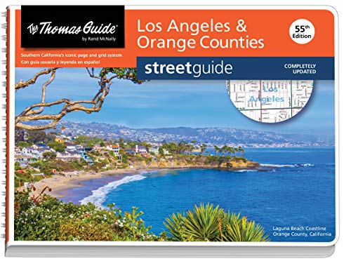 Los Angeles and Orange Counties Street Guide (Thomas Guide Streetguide Los Angeles and Orange County)