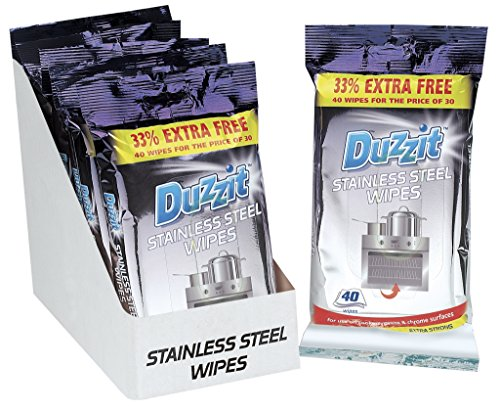duzzit-40-stainless-steel-wipes-33-extra-free