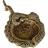 Raity's Pure Brass Diya (Puja Lamp)/Diyas/Deepak Oil Lamp