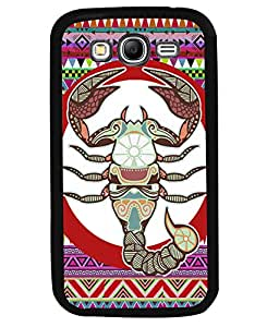 PrintVisa Metal Printed Cancer Designer Back Case Cover for Samsung Galaxy Grand Neo-D5118