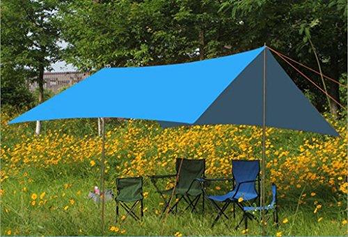 Preisvergleich Produktbild Jingzou Outdoor groß Baldachin Markise sun Laube Schatten Zelt Camping Zelt Ultraleicht 290*300cm