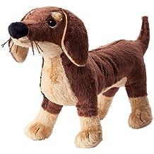 Ikea SMASLUG - Suave Juguete, Perro, marrón - 72x40x108 cm