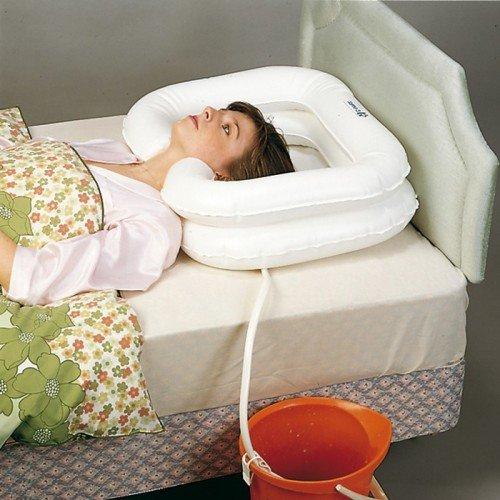 Lavacabezas hinchable para ajustar a bañera