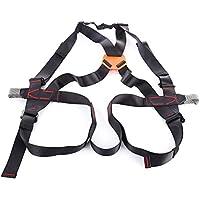 Shuzhen,Arnés de Escalada Guardian Fall Protection Safety Equipment para Roca al Aire Libre(Color:Negro)