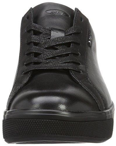 Mbt Sneaker Bassa Jambo 6s Da Donna, Nero Nero (nappa Nera)