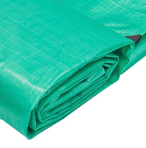 AOHMG Bache Impermeable Avec Oeillets Grande Taille, Poly Bâche tissée résistant à l'eau et aux UV/Bâche/Bâche anti-déchirure,9.9x13.2ft/3x4m