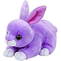 TY 41179–Beanie Babies Dash–Conejo, 15cm, color lila