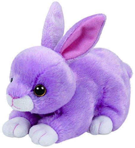 ty-41179-beanie-babies-dash-conejo-15-cm-color-lila