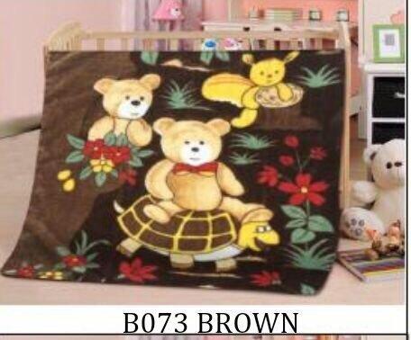 Baby Fleece Blanket Super Soft Throw Floral Animal Cartoon Design